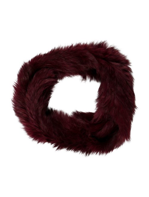 Jocelyn Rabbit Fur Snood