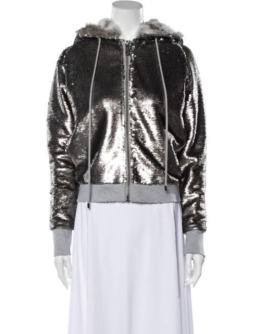 Jocelyn Biker Jacket Silver