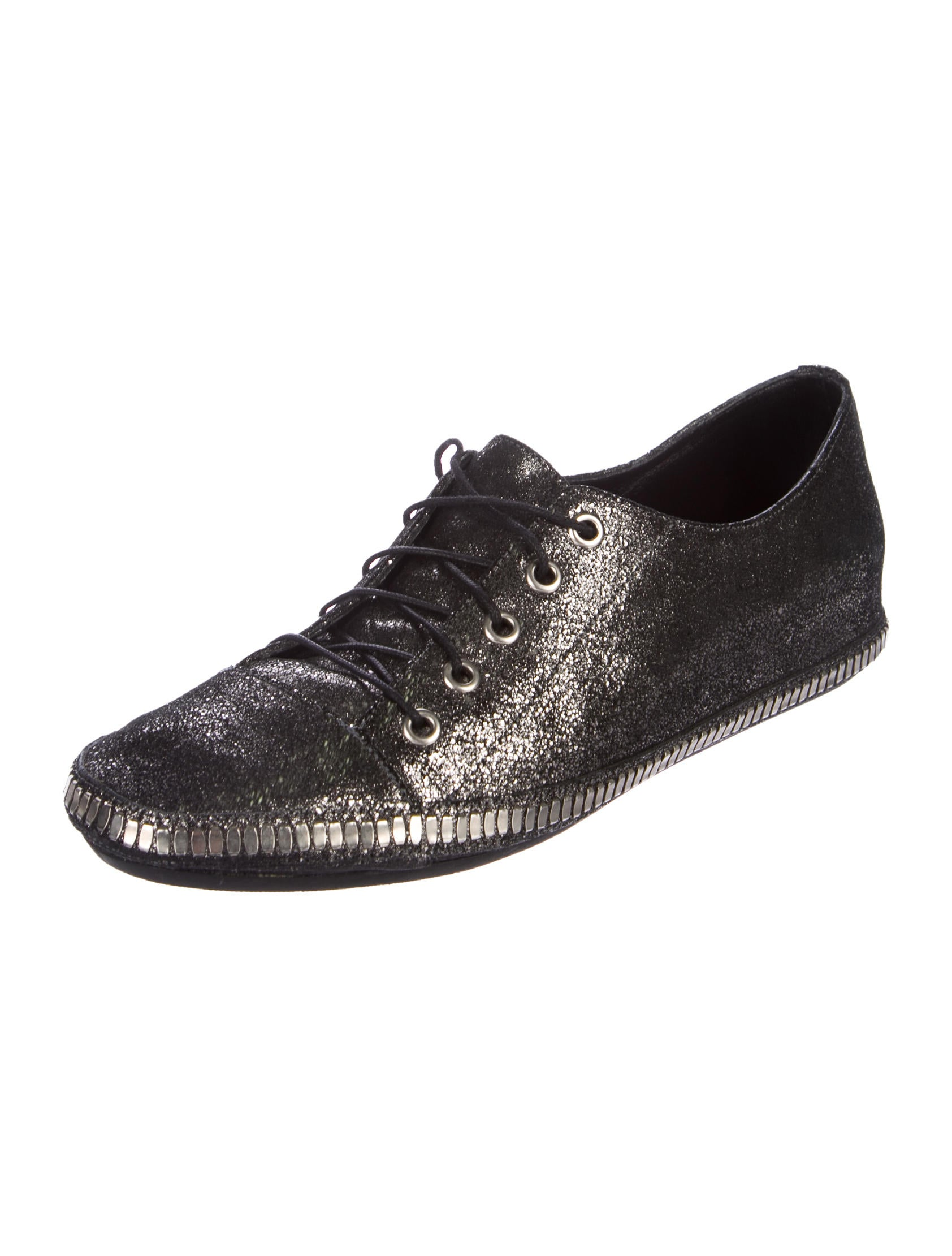 Calleen Cordero Metallic Low-Top Sneakers purchase for sale cheap sale how much clearance official site Rpa4YHh8q