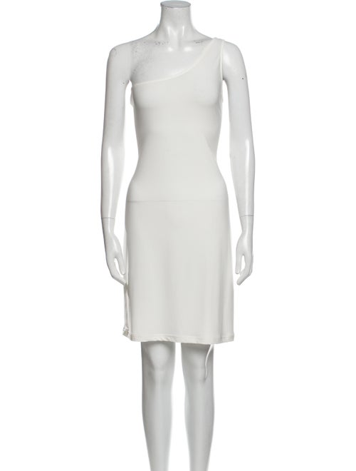 Abi Ferrin One-Shoulder Mini Dress
