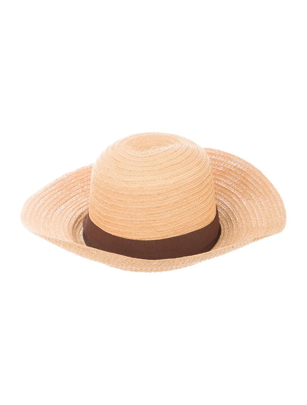 Reinhard Plank Straw Wide Brim Hat Tan - image 2