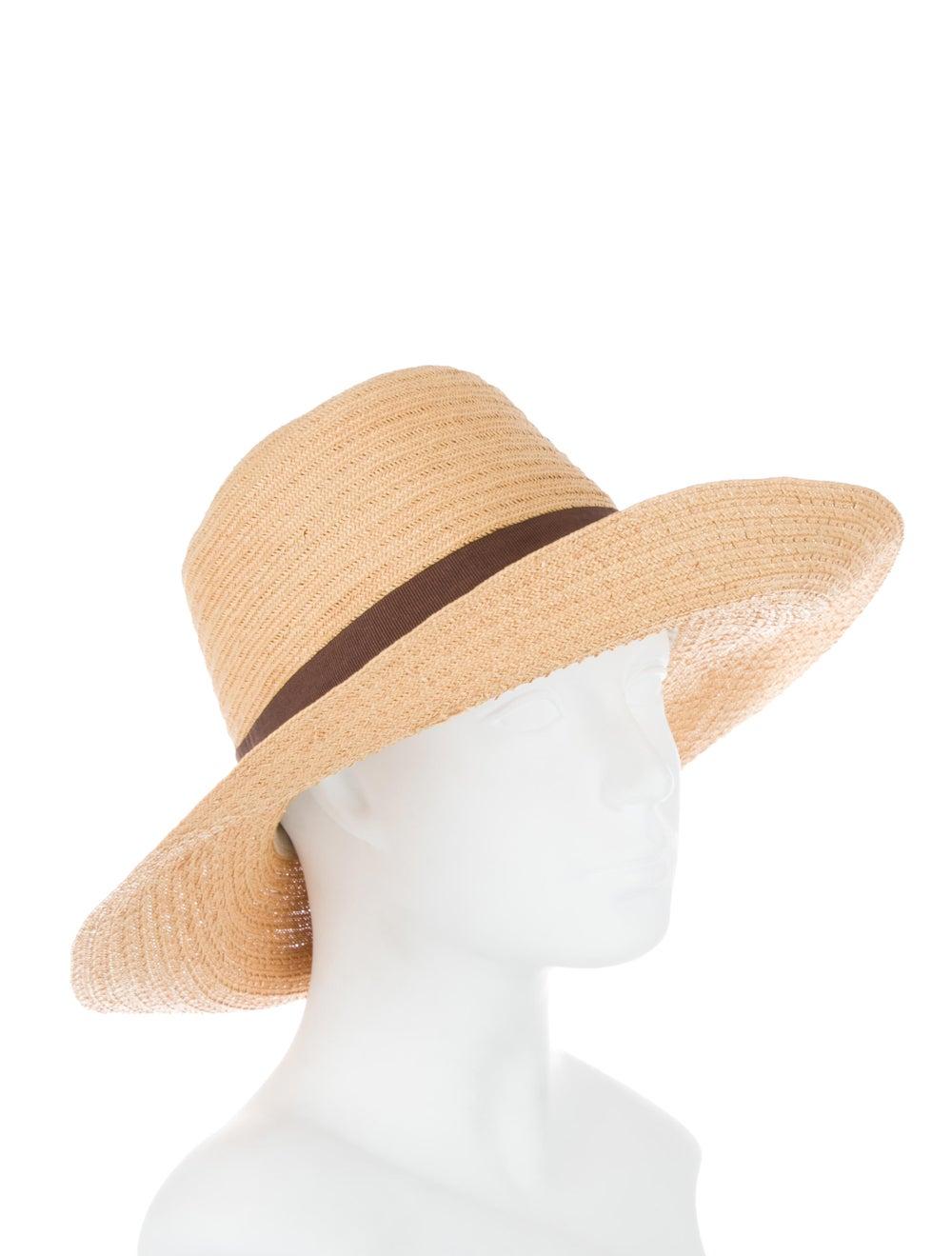 Reinhard Plank Straw Wide Brim Hat Tan - image 3