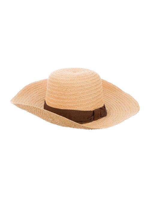 Reinhard Plank Straw Wide Brim Hat Tan