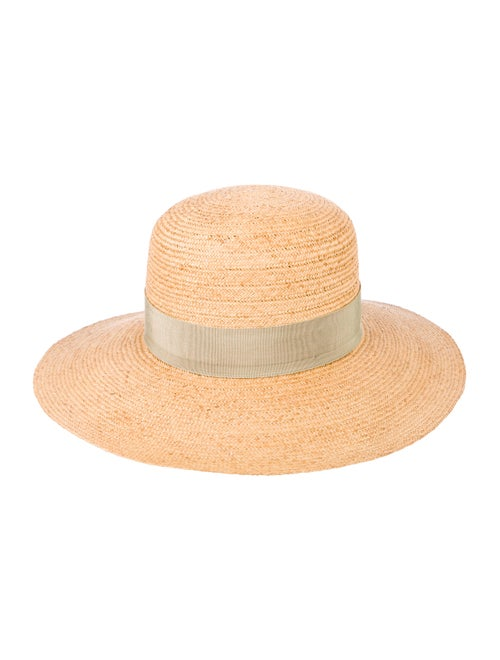 Reinhard Plank Straw Wide Brim Hat Tan - image 1