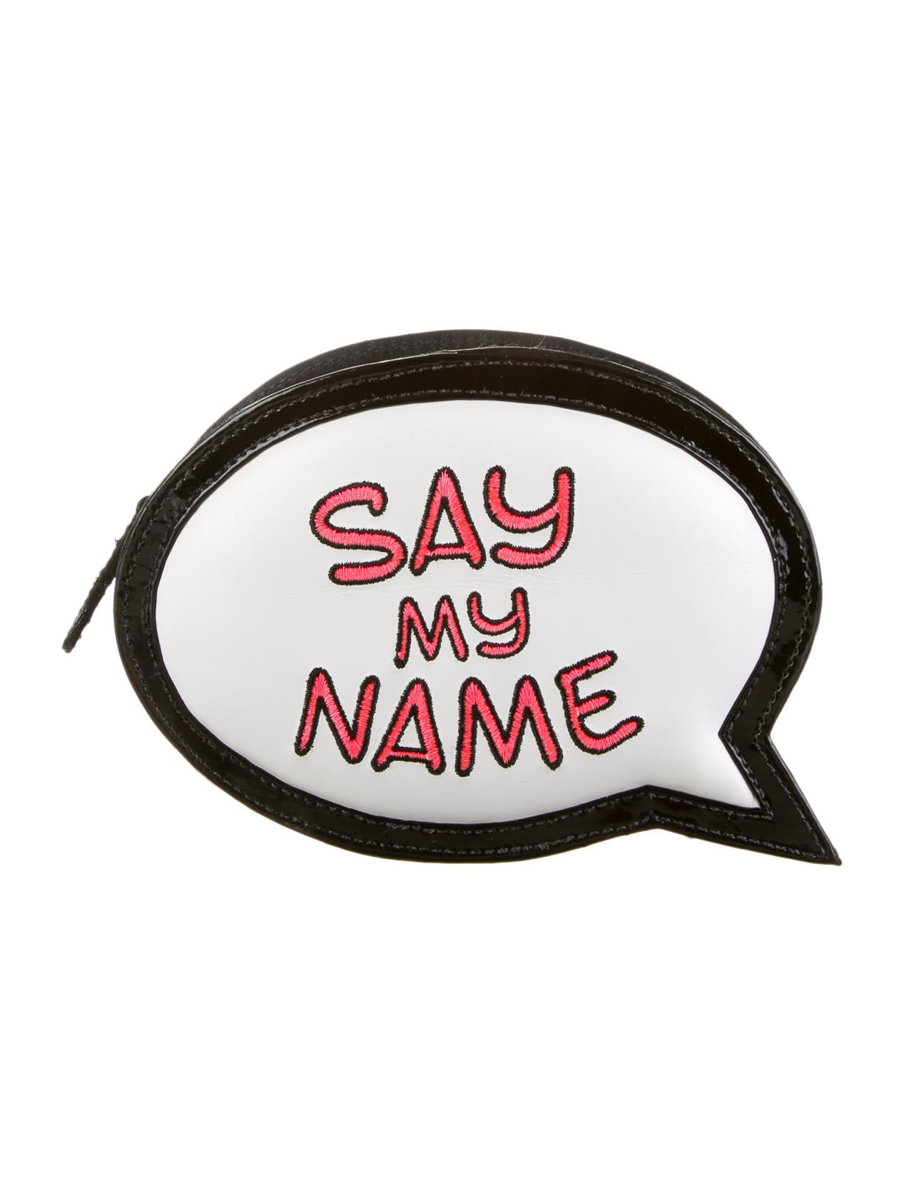 sophia webster say my name speech bubble clutch handbags. Black Bedroom Furniture Sets. Home Design Ideas
