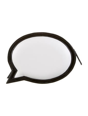 Say My Name Speech Bubble Clutch
