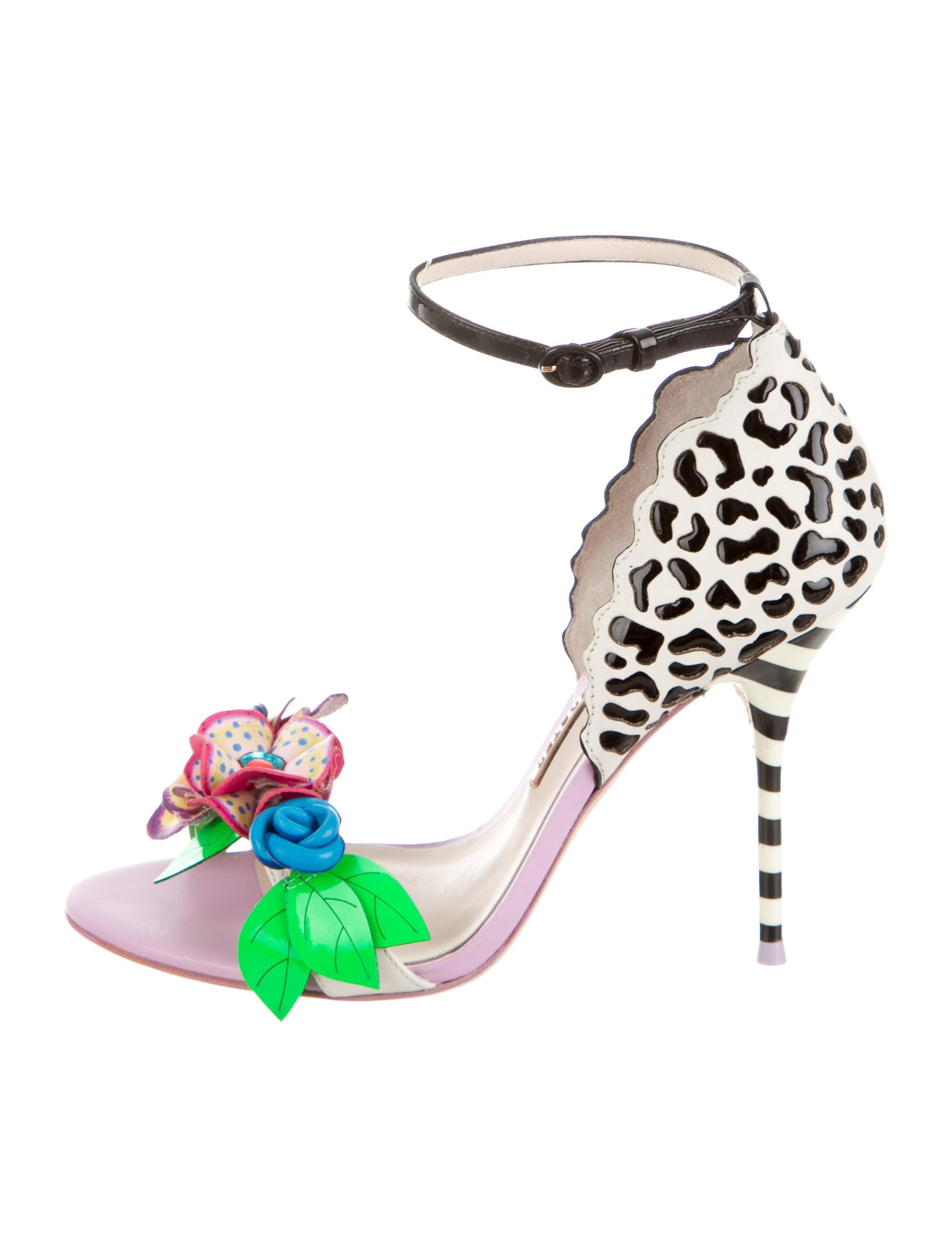63c918ece822 Sophia Webster Lilico Jungle Floral-Embellished Sandals w  Tags ...