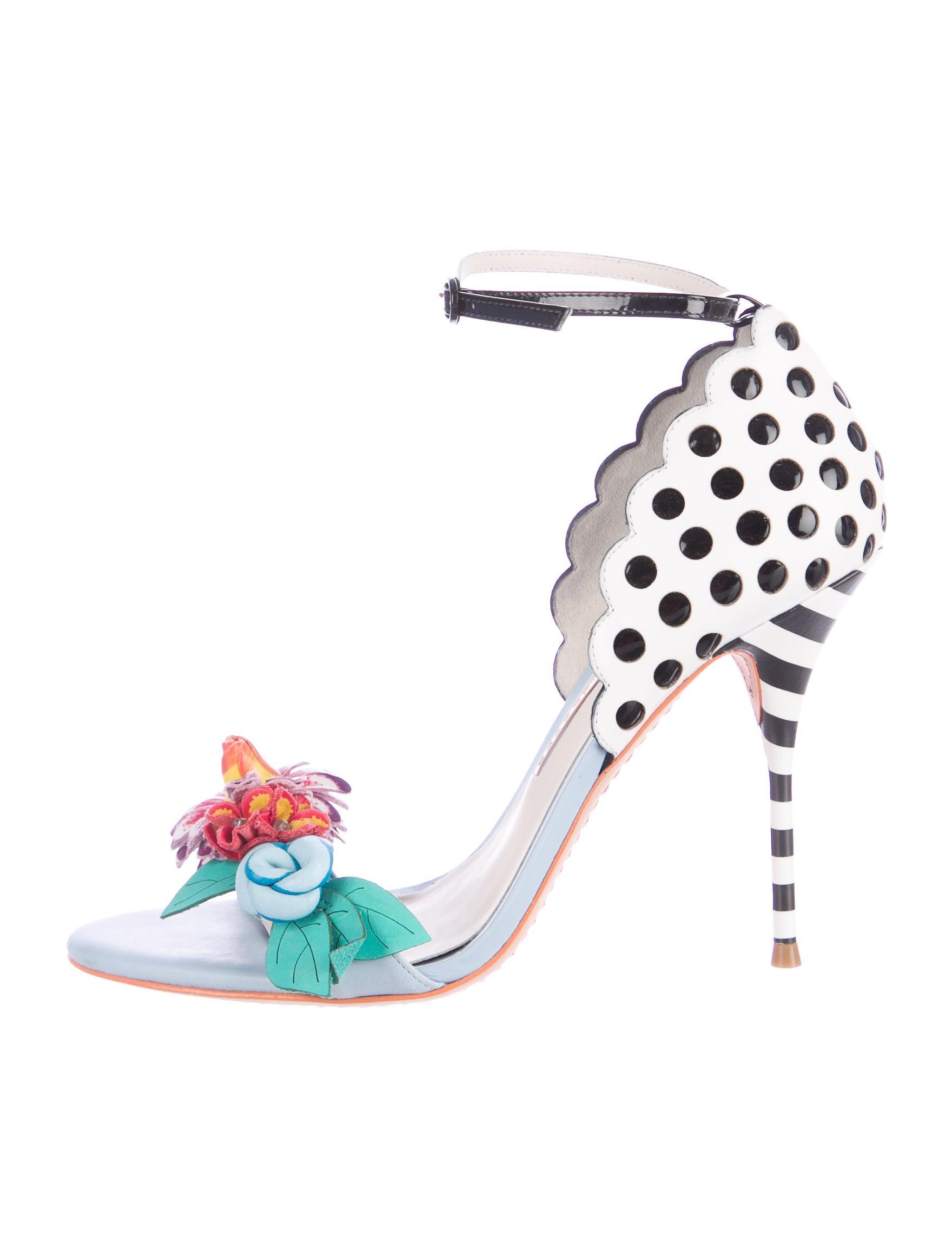 f480ab05e8a9 Sophia Webster Lilico Jungle Floral-Embellished Sandals - Shoes ...