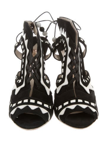 Riko Caged Sandals