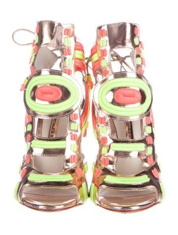 Phoebe Leather Sandals