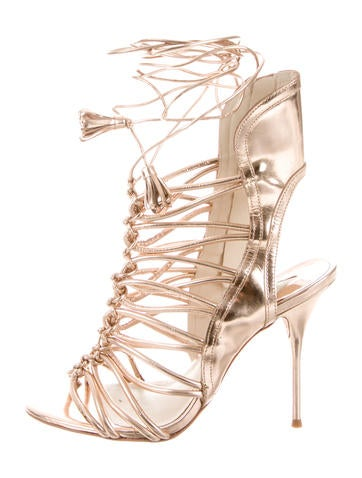 Lacey Caged Sandals