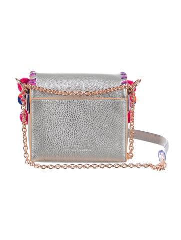2016 Claudie Pom-Pom Crossbody Bag