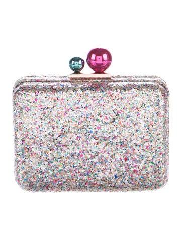 Glitter Box Clutch
