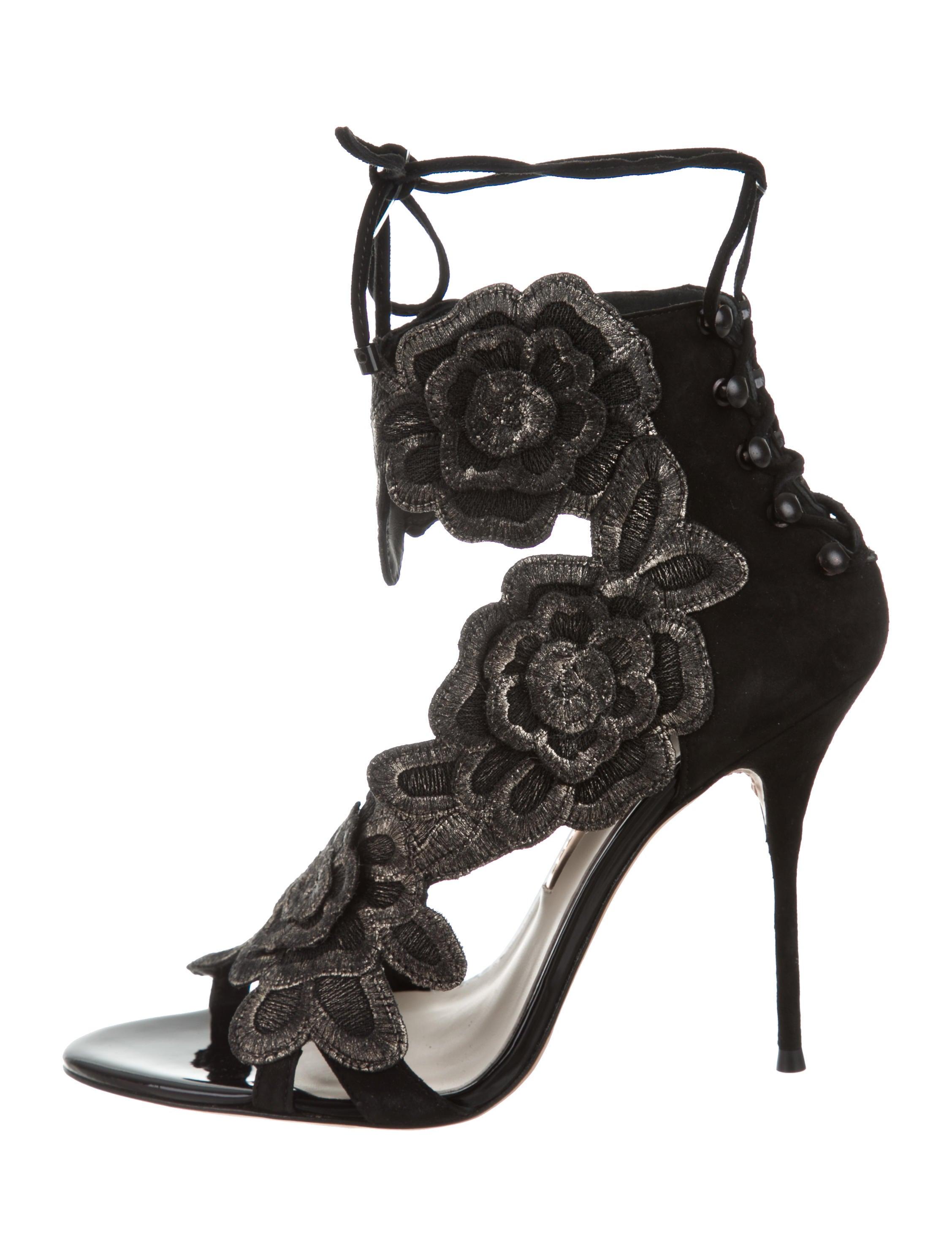 c8bea28d1714 Sophia Webster Suede Winona Sandals - Shoes - W9S21149