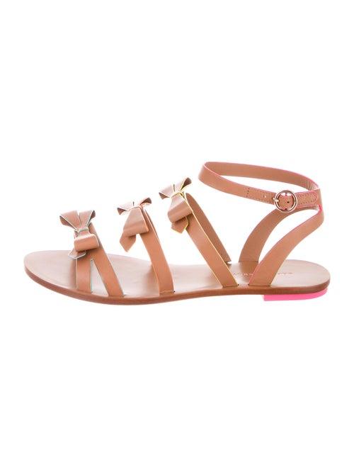 Sophia Webster Leather Gladiator Sandals Brown