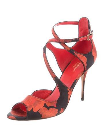 Serena Floral Sandals
