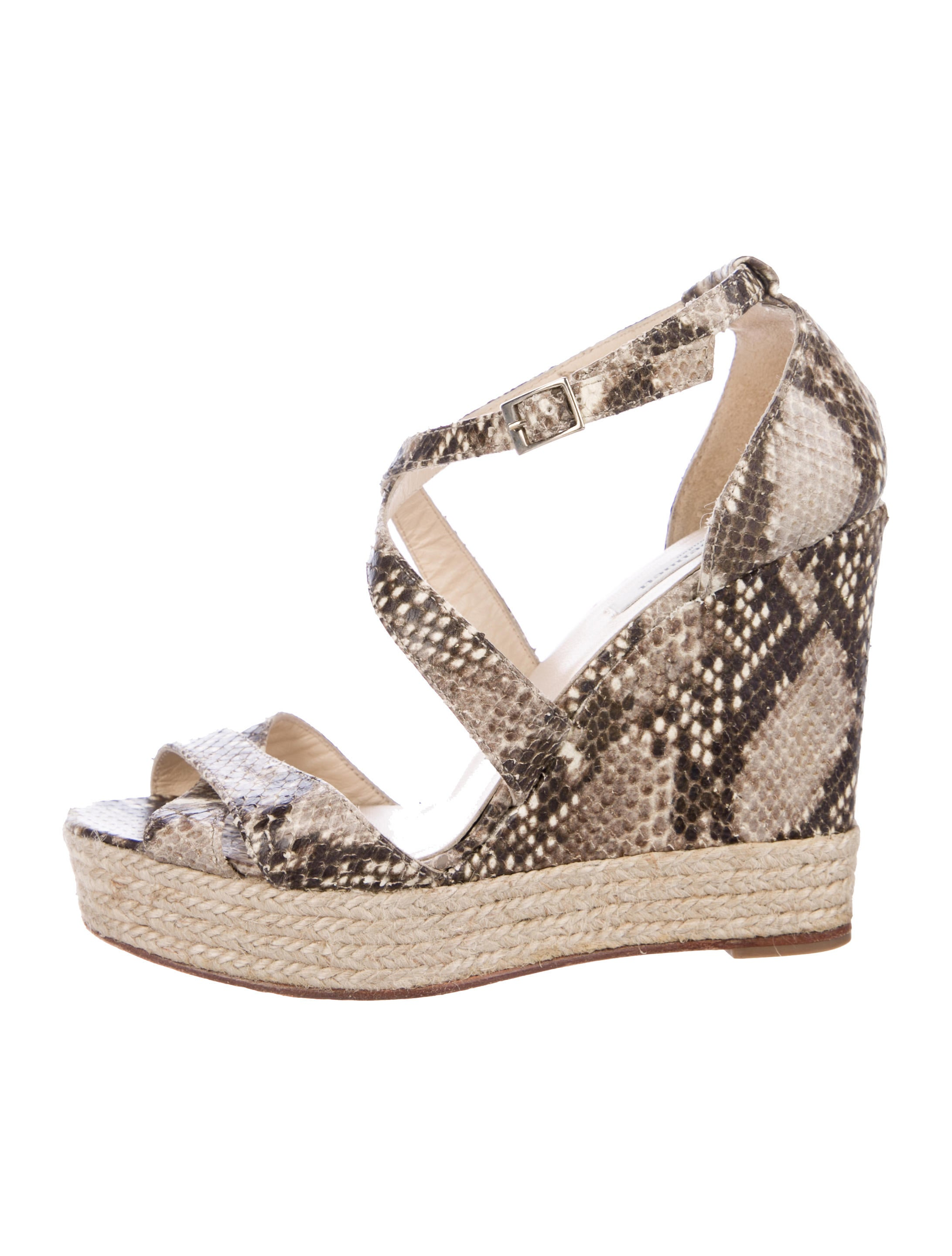 L.K. Bennett Embossed Platform Wedges online cheap authentic outlet free shipping BNFGGltxHF