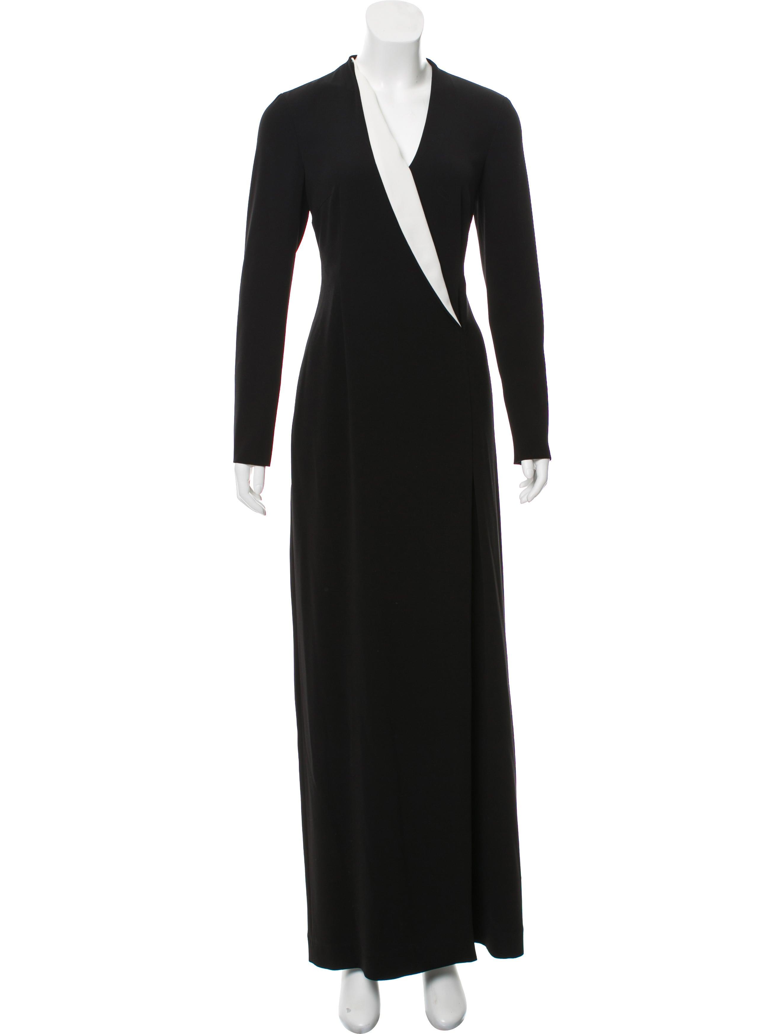 Lk Bennett Long Sleeve Maxi Dress W Tags Clothing W9z21493