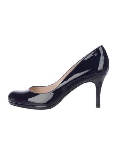 810d252483f3 L.K. Bennett Patent Leather Round-Toe Pumps - Shoes - W9Z21781