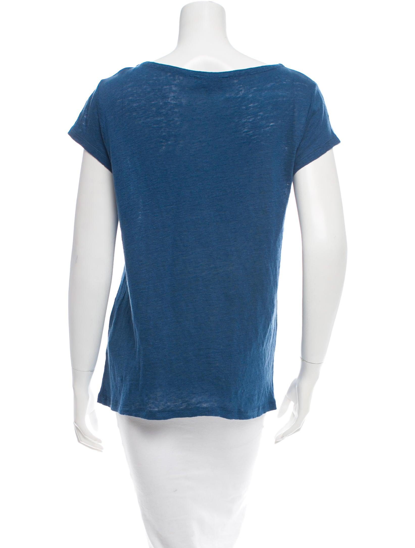 A p c linen short sleeve t shirt clothing wa322149 for Short sleeve linen shirt