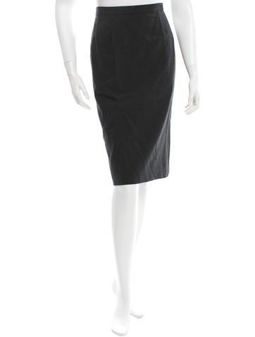 A.P.C. Knee-Length Pencil Skirt