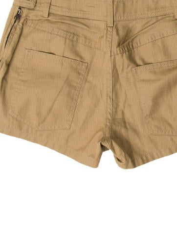 Fitted Mini Shorts
