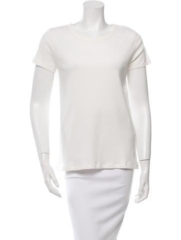 A.P.C. Naxos Rib Knit T-Shirt w/ Tags None