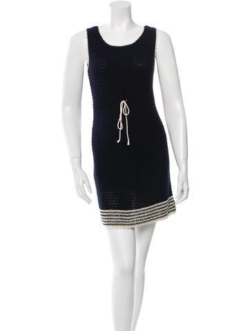 A.P.C. Knit Mini Dress None