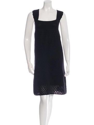 A.P.C. Open Knit Sleeveless Dress None