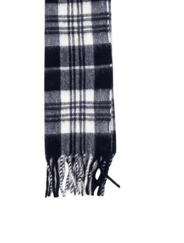 Wool Plaid Scarf w/ Tags