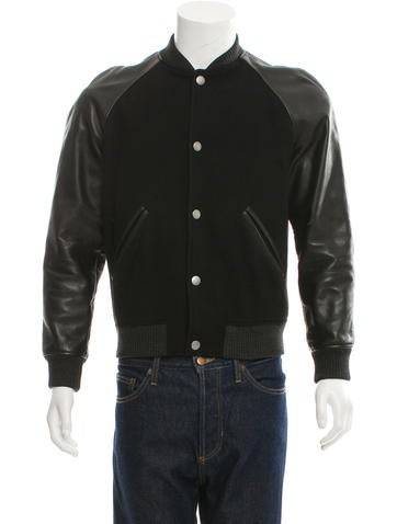 A.P.C. Wool Varsity Jacket None
