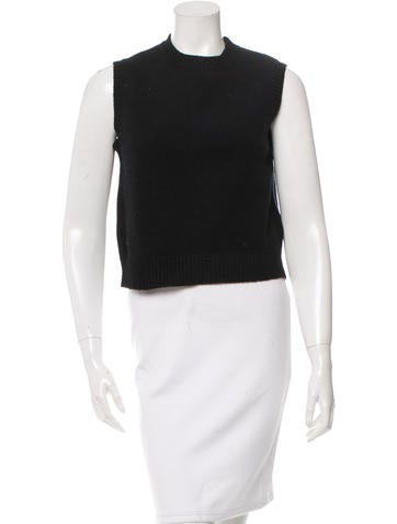 A.P.C. Wool Sleeveless Top None