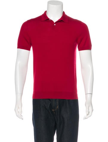 A.P.C. Wool Knit Polo None