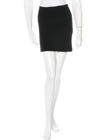 A.P.C. Wool Mini Skirt None