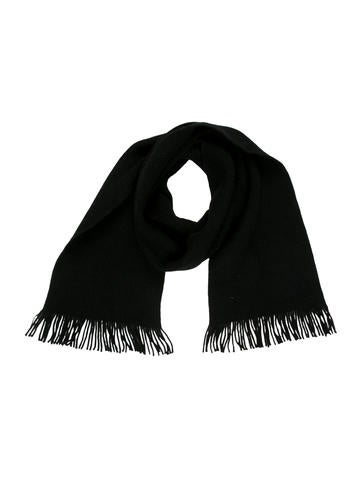A.P.C. Wool Fringe Scarf None