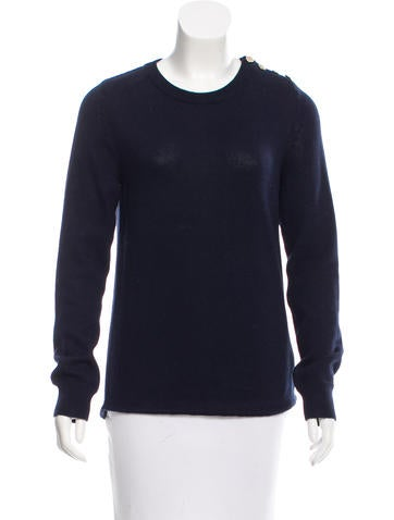 A.P.C. Long Sleeve Crew Neck Sweater None