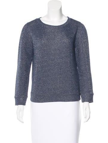 A.P.C. Metallic Sweatshirt Top None