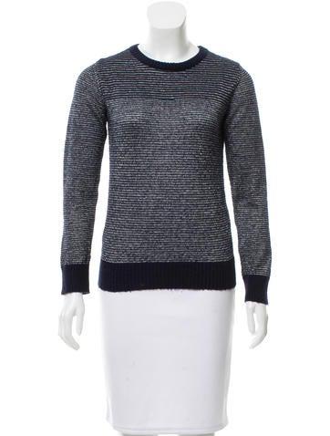 A.P.C. Rib Knit Crew Neck Sweater None