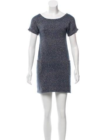 A.P.C. Metallic Knee-Length Dress None