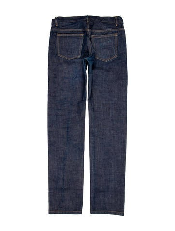 Flat Front Skinny Jeans