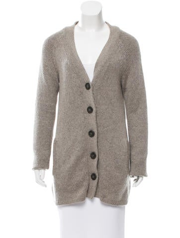 A.P.C. Wool & Mohair-Blend Cardigan None