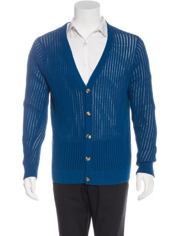 A.P.C. Rib Knit Cardigan None