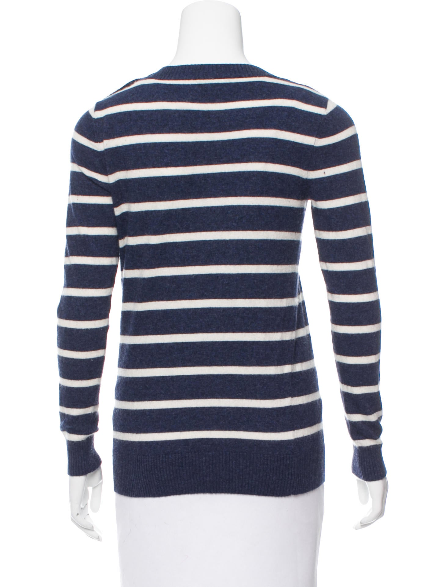 Knitting Pattern Striped Sweater : A.P.C. Striped Knit Sweater - Clothing - WA324178 The ...