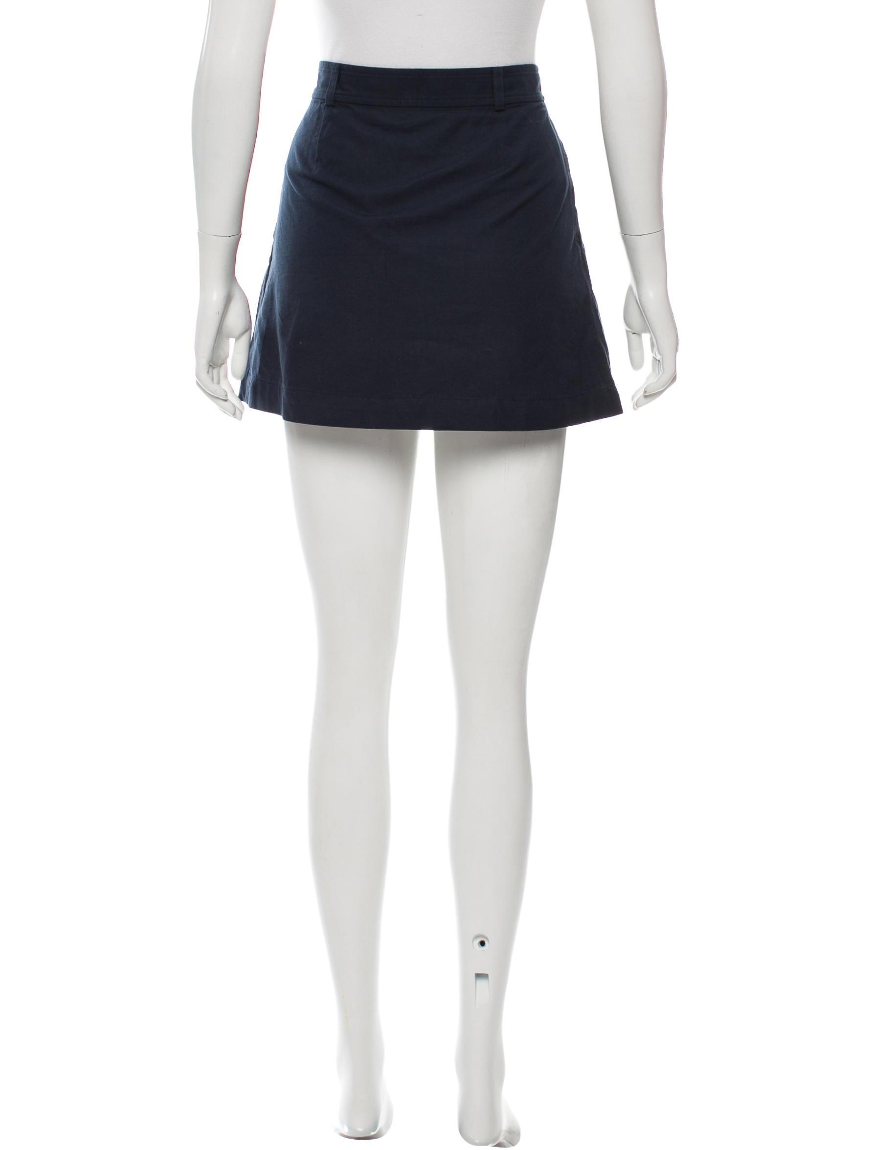 a p c mini a line skirt clothing wa324296 the realreal