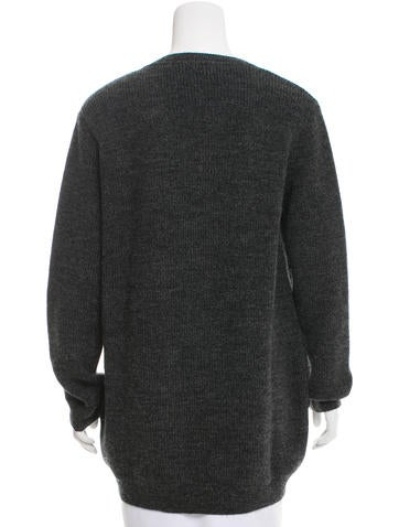 Long Sleeve Wool Cardigan w/ Tags