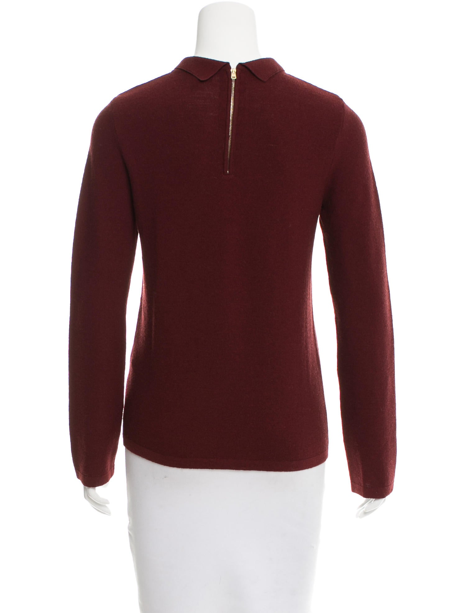 A p c long sleeve wool top clothing wa324723 the for Best wool shirt jackets