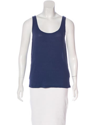 A.P.C. Knit Sleeveless Top None