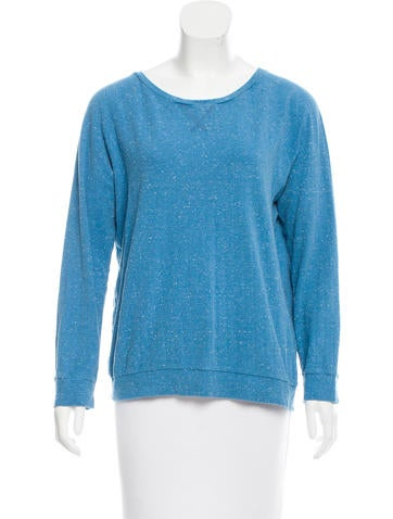 A.P.C. Donegal Knit Sweatshirt None
