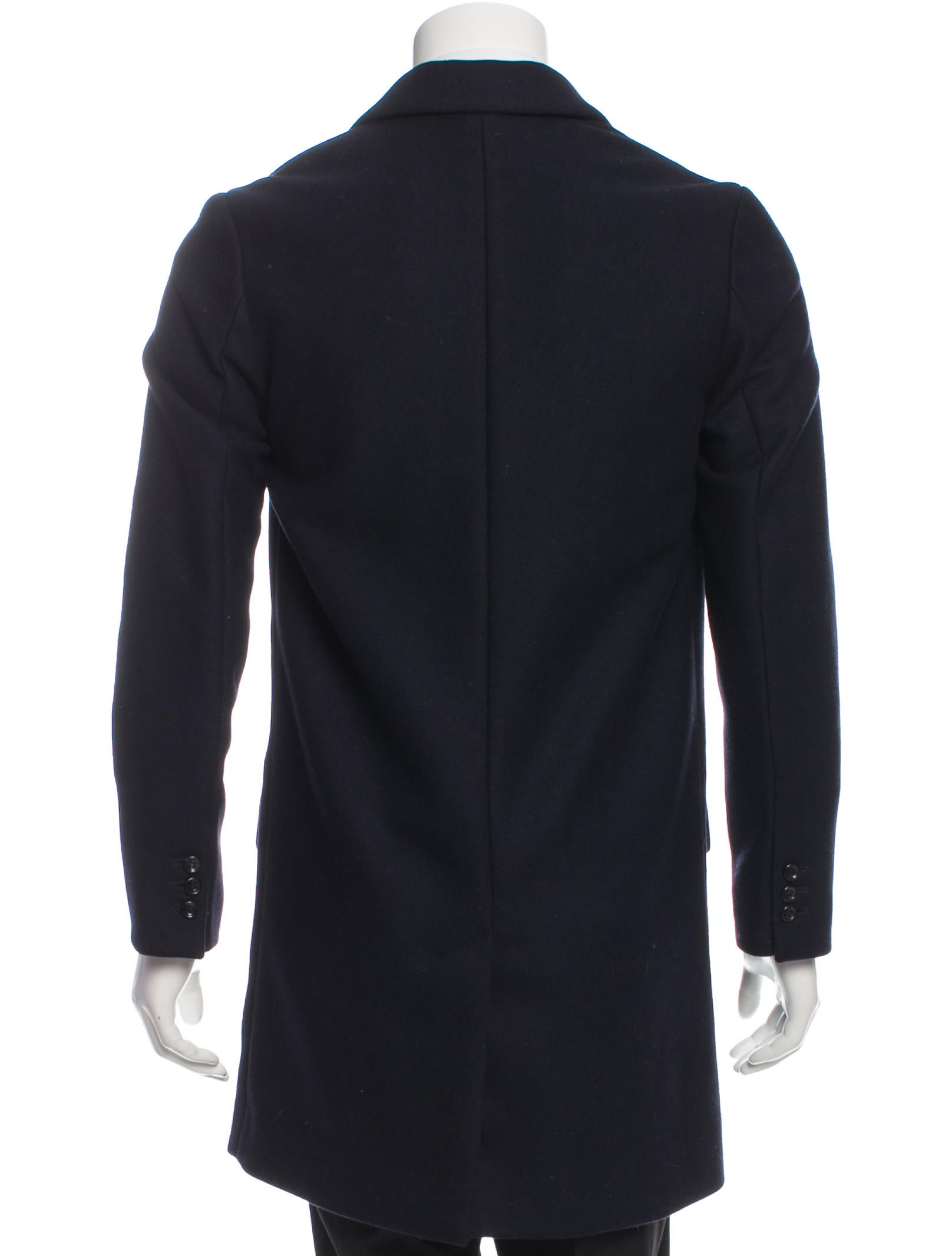 a p c wool two button coat clothing wa324943 the