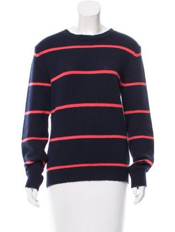 A.P.C. Striped Knit Sweater None